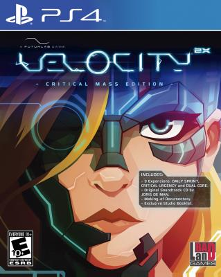 Cover Image of Velocity 2X