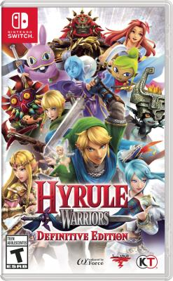 Cover Image of Hyrule warriors