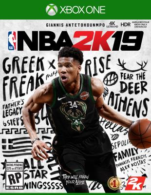 Cover Image of NBA 2K19
