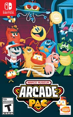 Cover Image of Namco museum arcade pac