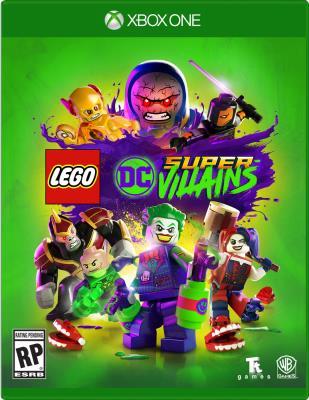 Cover Image of LEGO DC super-villains