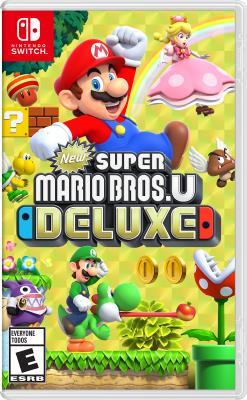Cover Image of New super Mario Bros. U deluxe