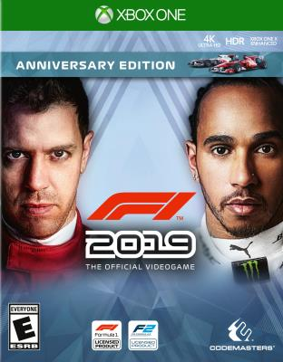 Cover Image of F1 2019