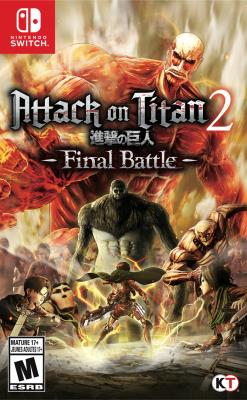 Cover Image of Attack on Titan 2