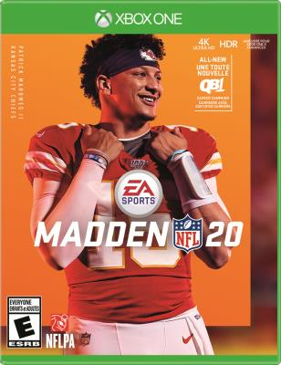 Cover Image of Madden NFL 20