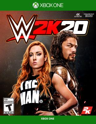 Cover Image of WWE 2K20