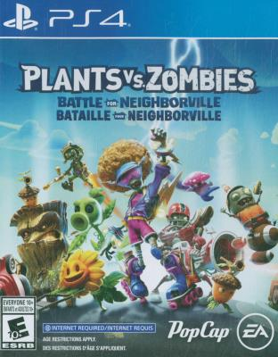 Cover Image of Plants vs. zombies