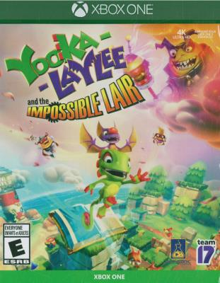 Cover Image of Yooka-Laylee and the impossible lair