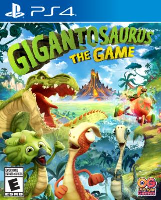 Cover Image of Gigantosaurus