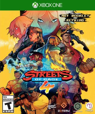 Cover Image of Streets of rage 4