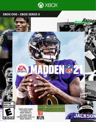 Cover Image of Madden NFL 21