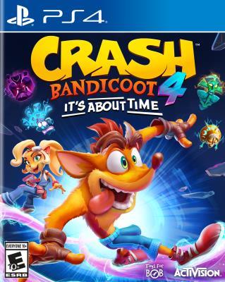 Cover Image of Crash Bandicoot 4
