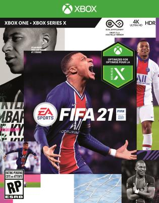 Cover Image of FIFA 21