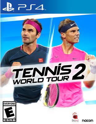 Cover Image of Tennis world tour 2