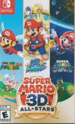 Cover Image of Super Mario 3D all-stars