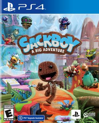 Cover Image of Sackboy