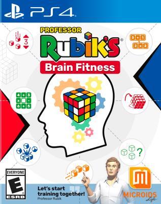 Cover Image of Professor Rubik's brain fitness