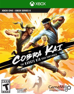 Cover Image of Cobra kai