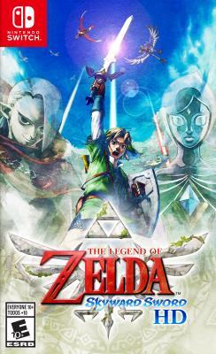 Cover Image of The legend of Zelda, skyward sword HD